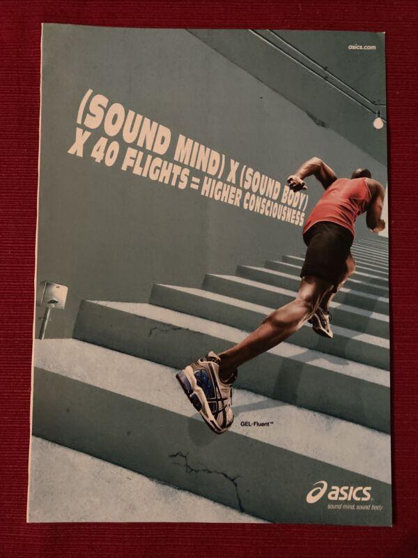 Oasics GEL-Fluent Sneakers 2008 Ad/Poster Promo Art Ad