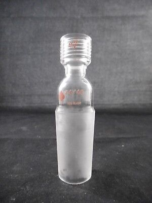 Ace Glass Incorporated Glass Ground Joint Adapter 2440 7 Thread 7855-704