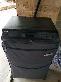 Onkyo CD player.