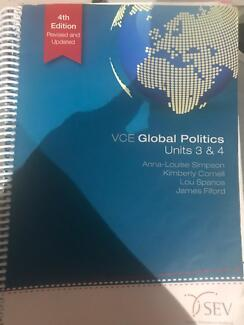 VCE global politics 3&4 text book