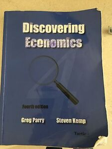 Discovering Economics year 11 text book Currambine Joondalup Area Preview