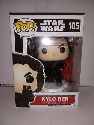 Funko POP Star Wars Kylo Ren #105 The Force Awakens Bobblehead funko mint