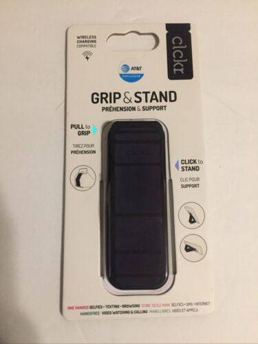 Clckr Universal Phone Grip Stand Wireless Charging Compatible - $9.99