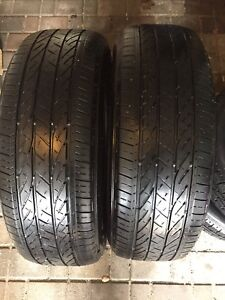 225/60R18  100H Bridgestone Dueler H/P Sport set of two