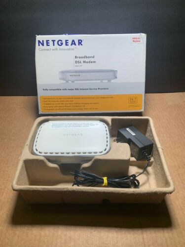 NETGEAR BROADBAND ADSL2+ MODEM MODEL DM111PSP