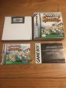 Harvest moon game boy advance game