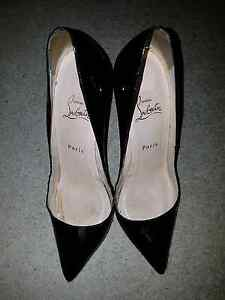 Christian Louboutin Pigalle 120 Black 38.5 Southbank Melbourne City Preview