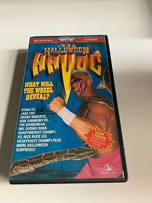 WCW Halloween Havoc 1992 VHS VIDEO