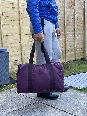 Lovely Purple Kipling Travel Bag