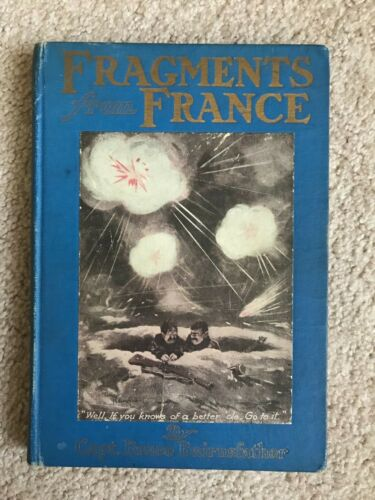 Fragments From France 1st Edition Capt Bruce Bairnsfather