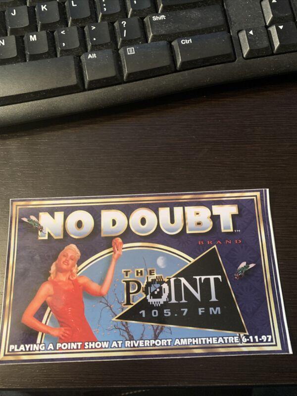 No Doubt 105.7 Sticker