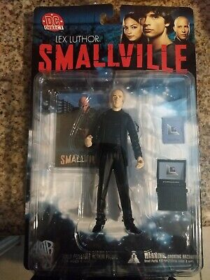 Smallville Lex luthor Figure DC Direct With Trading Card.. Brand New