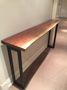 Solid wood console/sofa table