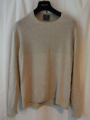 Private White VC & Inis Meain Silk & Cashmere Blend Handmade In Ireland Jumper