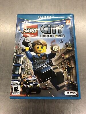 LEGO City Undercover (Nintendo Wii U, 2013)-FREE SHIPPING