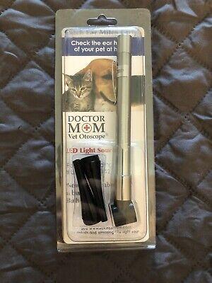 Dr Mom Pocket Veterinary Led Otoscope Otoscopes - Pocket Vet Otoscope