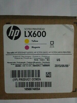 Cc582a Lx600 Printhead Yellowmagenta For Designjet L65500 Lx600 And Lx800