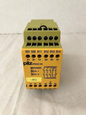 Pilz 774310 Pnoz X3 Safety Relay
