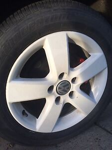 16 inch Alloy Wheels 5x112 With Tires