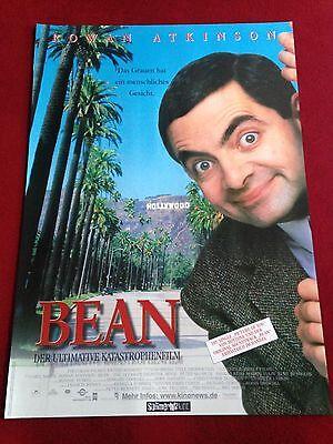 Bean Der ultimative Katastrophenfilm Kinoplakat Poster A1, Rowan Atkinson