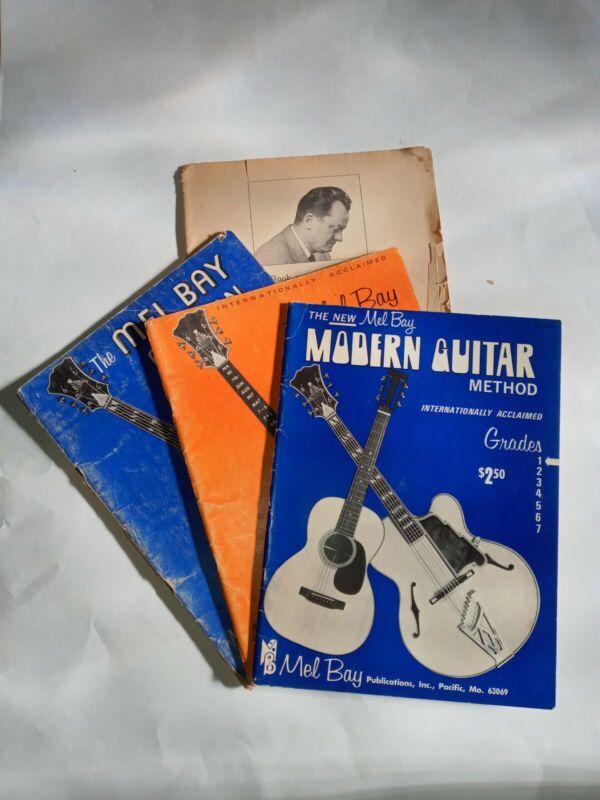 Vintage Mel Bay Guitar Lesson Books
