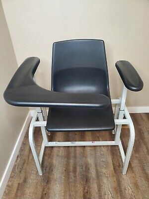 Injection Phlebotomy Blood Draw Chair Adjustable Arm Winco 571