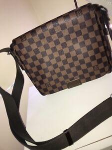 REAL Louis Vuitton Brooklyn shoulder bag