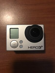 GoPro Hero 3+ with LCD display