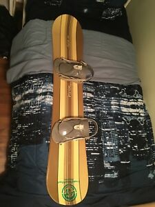 144cm snowboard  best offer