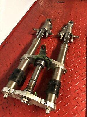 Zx7 Front Forks DAMAGED