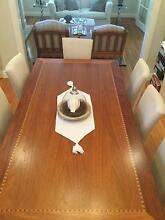 Victoriian Ash Dining Table with Timber Inlay (chairs not  incl.) Chatswood Willoughby Area Preview