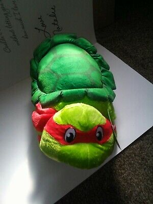 Ninja Turtle Baby Stuff (NEW Nickelodeon TMNT Pillow Pets Teenage Mutant Ninja Turtles Raphael Plush Toy)