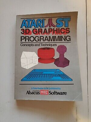 Atari ST Book Abacus 3d Graphics Programming Concepts and Techniques