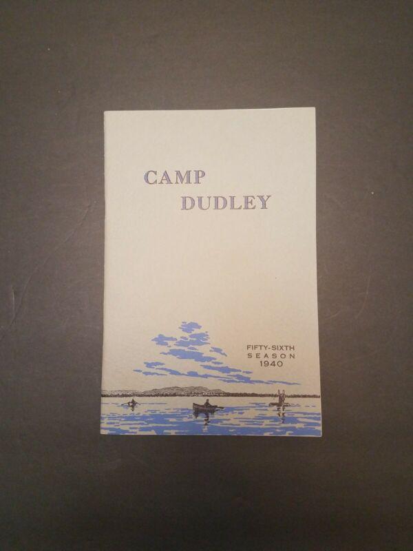 1940 Camp Dudley Westport New York Brochure - Lake Champlain - YMCA Camp
