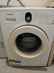 Front loader washing machine, Samsung WF8750LSW, 7.5 kg WITH ISSUE Rochedale Brisbane South East Preview