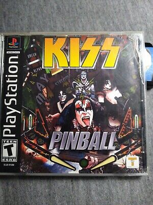 Kiss Pinball - PS1 PS2 Complete Playstation Cib Game