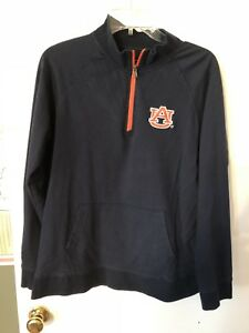 Women's E5 XL Navy Auburn Half-Zip Sweatshirt