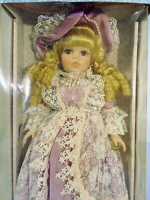 Classic Treasures Handcrafted Porcelain Doll Special Edition Collectible Doll
