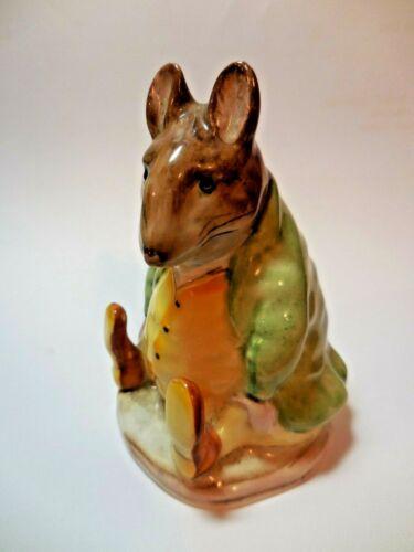 Vintage Beatrix Potter Samuel Whiskers Mouse Figurine Beswick England 1973-74