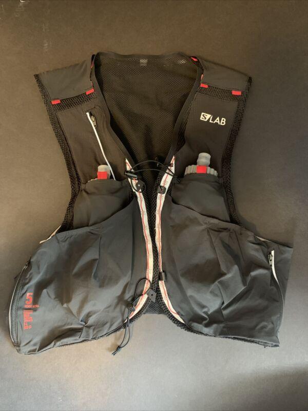 New w/o tags - XL - Salomon S/Lab Sense Ultra 5 Set Hydration Running Vest