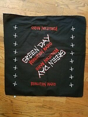 Green Day Rev Rad bandana revolution radio nwot