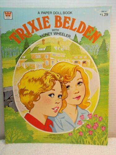 1981 Trixie Belden with Honey Wheeler Paper Doll Book--Uncut