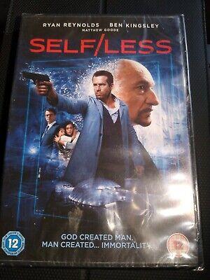 Self/Less [2017] (DVD) Ryan Reynolds, Matthew Goode, Ben Kingsley New And Sealed