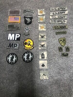us army acu velcro patche Lot