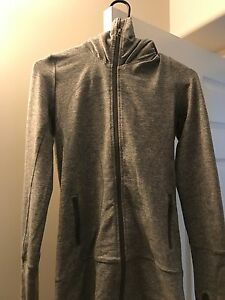 Size 4 Lululemon Stride Jacket in Grey