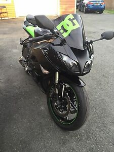 For Sale or Trade 2009 Kawasaki Ninja zx6r Monster Edition