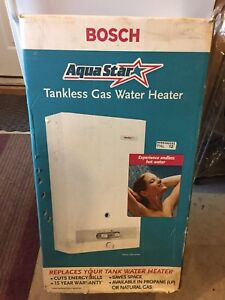 Bosch 125B Tankless Water Heater