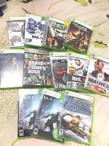 Xbox Video games for sale