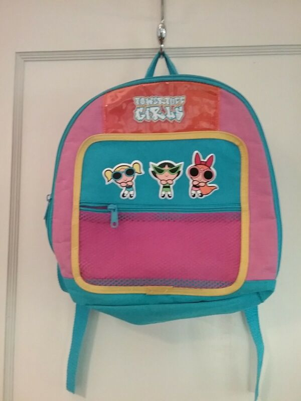 Vintage Powerpuff Girls Mini Backpack Bubbles Blossom Buttercup