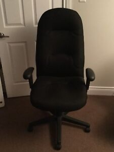 Ergonomic Desk Chair and foot rest
